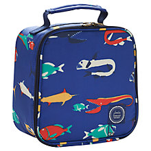 Buy Little Joule JNR Scary Fish Lunch Bag, Multi Online at johnlewis.com