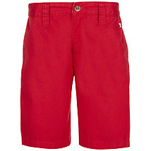 Buy Hackett Boys' Classic Chino Shorts, Red Online at johnlewis.com