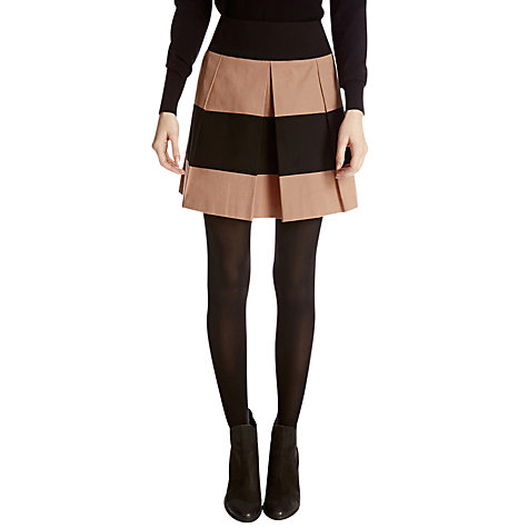 Buy Oasis Skater Skirt, Multi Online at johnlewis.com