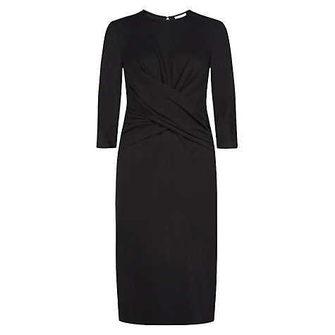 Buy Hobbs Lulu Dress, Black Online at johnlewis.com