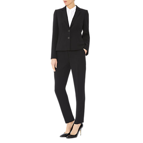 Buy Hobbs Polly Jacket, Black Online at johnlewis.com