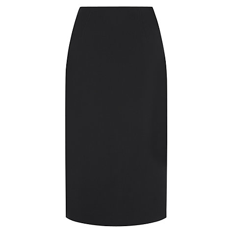 Buy Hobbs Sally Skirt, Black Online at johnlewis.com
