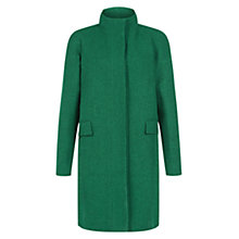 Buy Hobbs Cheryl Coat, Apple Green Melange Online at johnlewis.com