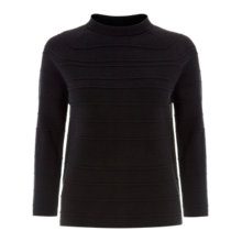 Buy Hobbs Elena Jumper, Navy Online at johnlewis.com