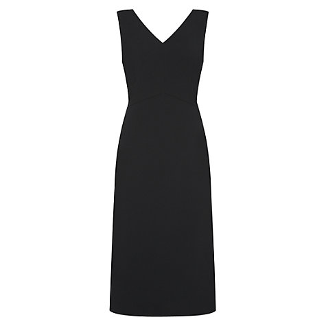 Buy Hobbs Sally Dress, Black Online at johnlewis.com