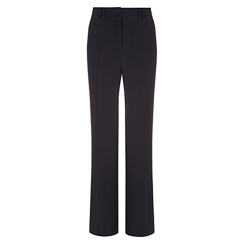 Buy Hobbs Saskia Trousers, Navy Online at johnlewis.com