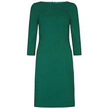 Buy Hobbs Sammy Dress, Dark Apple Green Online at johnlewis.com