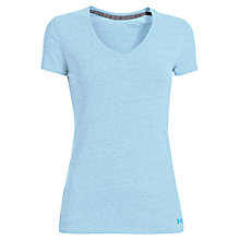 Buy Under Armour Charged Cotton Legacy Burnout T-Shirt, Blue Online at johnlewis.com