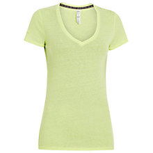 Buy Under Armour Charged Cotton Legacy Burnout T-Shirt Online at johnlewis.com
