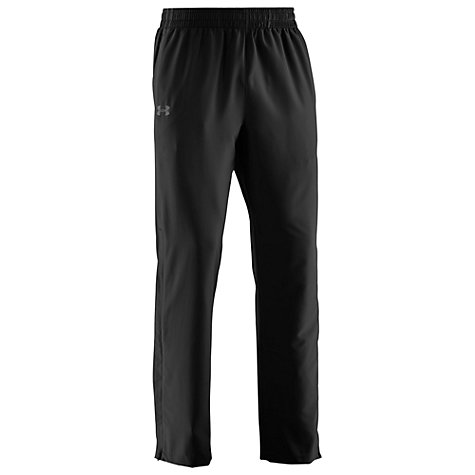 Buy Under Armour Storm Loose Fit Training Trousers, Black Online at johnlewis.com