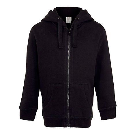 Buy John Lewis Zipped Hooded Top Online at johnlewis.com