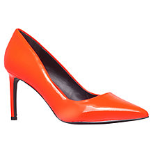 Buy KG by Kurt Geiger Bea Leather Court Shoes Online at johnlewis.com
