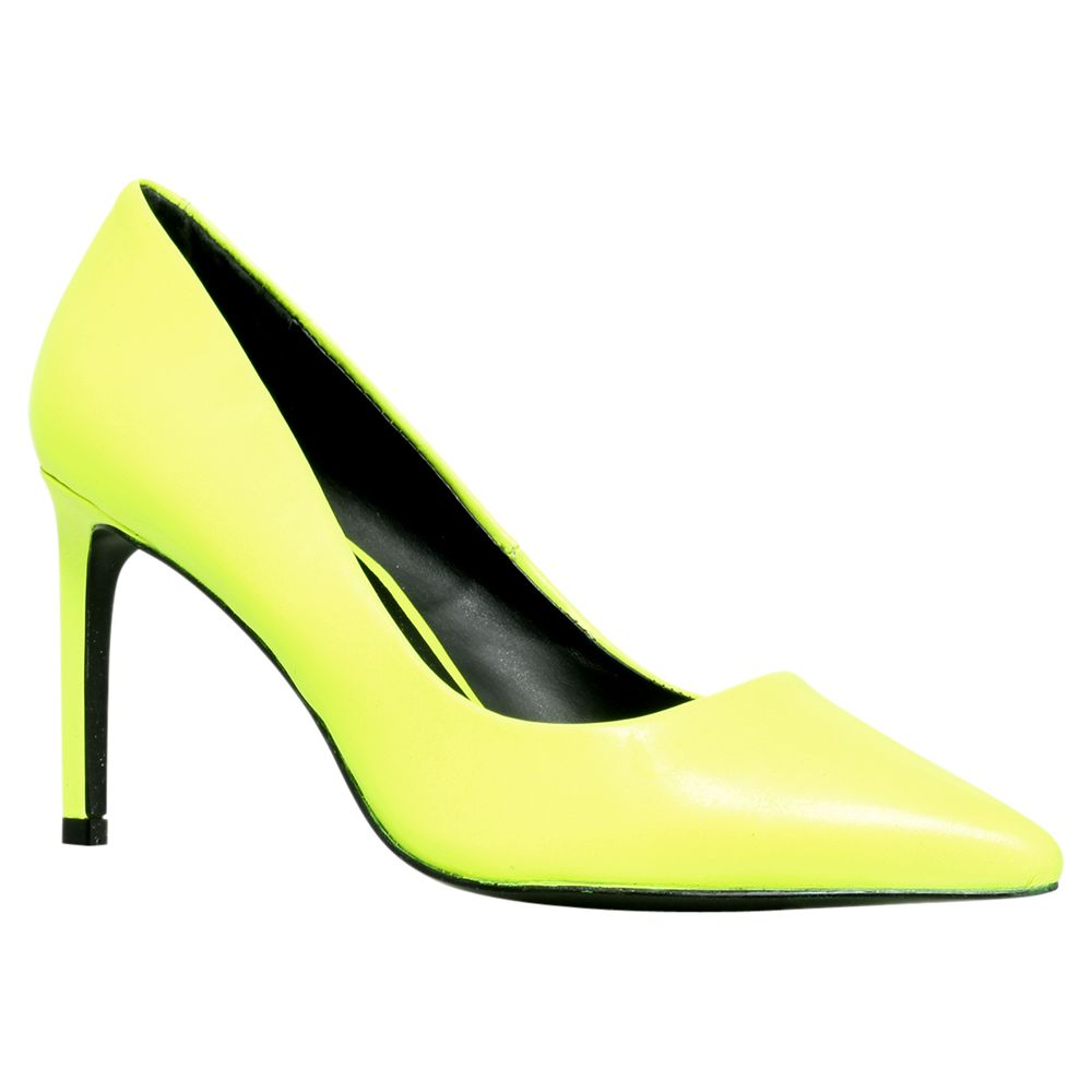 Kg By Kurt Geiger Bea Court Shoes, Yellow
