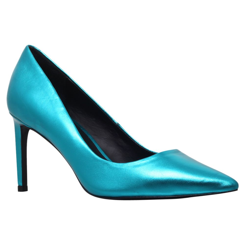 Kg By Kurt Geiger Bea Court Shoes, Turquiose