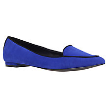 Buy KG by Kurt Geiger Lacey Pointed Toe Flat Slipper Shoes Online at johnlewis.com