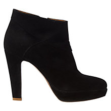 Buy Hobbs Glory Ankle Boots, Black Online at johnlewis.com