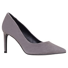 Buy KG by Kurt Geiger Bea Suede Court Shoes Online at johnlewis.com
