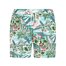 Buy Hartford Floral Swim Shorts, Green Online at johnlewis.com