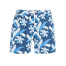 Buy Hartford Floral Print Swim Shorts, Blue Online at johnlewis.com
