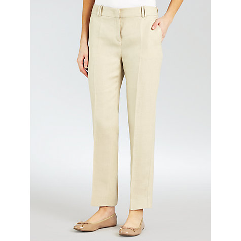 Buy Weekend by MaxMara Relaxed Trouser, Sand Online at johnlewis.com