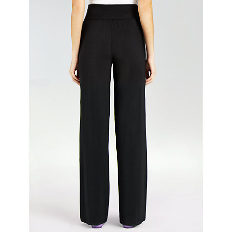 Buy Weekend by MaxMara Finale Relaxed Trouser, Black Online at johnlewis.com