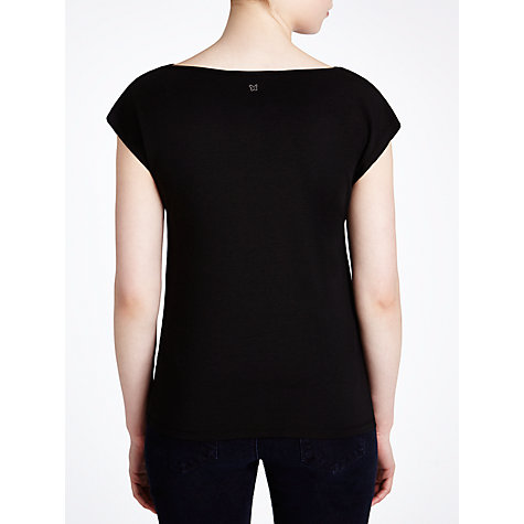Buy Weekend by MaxMara Knitted Blouse, Black Online at johnlewis.com