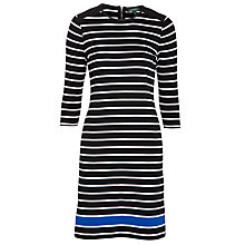 Buy Lauren Ralph Lauren Bikkie Dress, Black Online at johnlewis.com