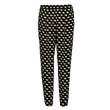 Buy Weekend by MaxMara Viglio Elephant Trouser, Black Online at johnlewis.com
