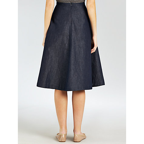 Buy Weekend by MaxMara Vittor Skirt, Navy Online at johnlewis.com