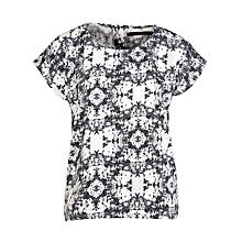 Buy Minimum Pollie Printed Top, Black/White Online at johnlewis.com