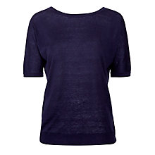 Buy Weekend by MaxMara Tonda Jumper, Navy Online at johnlewis.com