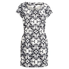 Buy Minimum Porta Printed Dress, Black/White Online at johnlewis.com