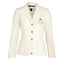 Buy Lauren by Ralph Lauren Thelred Jacket, Pearl Online at johnlewis.com