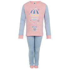 Buy Peppa Pig Girls' Pyjamas, Multi Online at johnlewis.com
