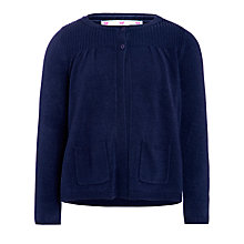 Buy John Lewis Girl Knit Cardigan, Navy Online at johnlewis.com
