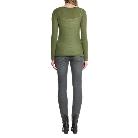 Buy Jigsaw Cashmere Open Knit Jumper Online at johnlewis.com