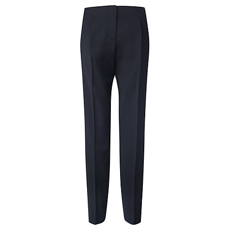 Buy Jigsaw Contemporary Tailoring Trousers, Navy Online at johnlewis.com