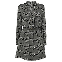 Buy Oasis Stripe Shirt Dress, Khaki Online at johnlewis.com