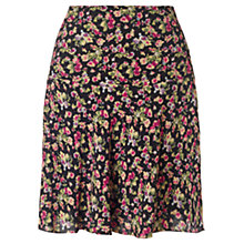 Buy Jigsaw Leaf Skirt, Multi Online at johnlewis.com