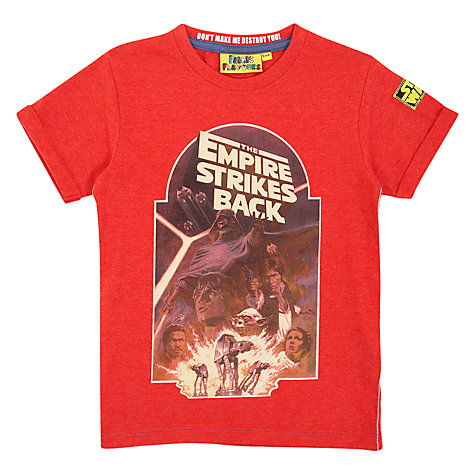 Buy Empire Strikes Back T-Shirt, Red Online at johnlewis.com