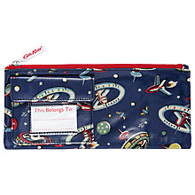 Buy Cath Kidston Space Print Pencil Case, Navy Online at johnlewis.com