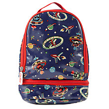 Buy Cath Kidston Space Print Lunch Bag, Blue Online at johnlewis.com