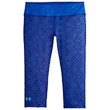 Buy Under Armour Sonic Capri Pants, Blue Online at johnlewis.com