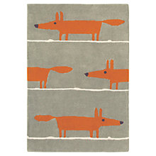 Buy Scion Mr Fox Rug, Orange Online at johnlewis.com