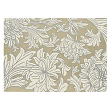 Buy William Morris Chrysanthemum Rug, Natural Online at johnlewis.com