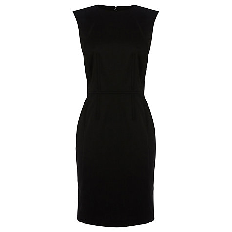 Buy Warehouse Corset Detail Dress, Black Online at johnlewis.com