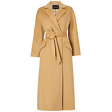 Buy Jaeger Longline Belted Wool Coat Online at johnlewis.com