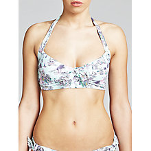 Buy John Lewis Casablanca Halter Bikini Top, Multi Online at johnlewis.com