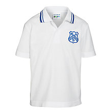Buy Westville House School Polo Shirt, White Online at johnlewis.com