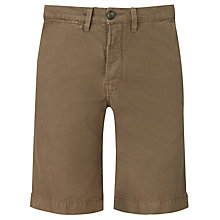 Buy Pretty Green Cotton Linen Shorts Online at johnlewis.com
